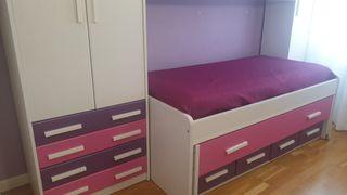 Dormitorio juvenil niña