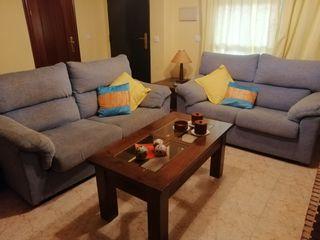 Dos sofás de 2 y de 3 plazas