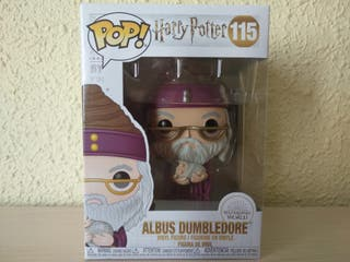 Funko Pop! Dumbledore con bebé Harry #115