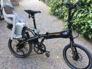 Bicicleta eléctrica plegable Hércules e-versa pro