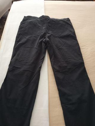 pantalón de montaña talla 48 negro