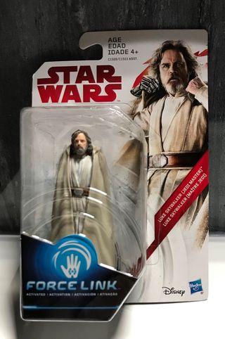 """Figura Star Wars Force Link de """"Luke Skywalker"""""""