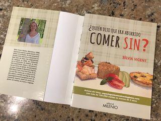 Libro recetas cocina SIN GLUTEN Y/O SIN LACTOSA