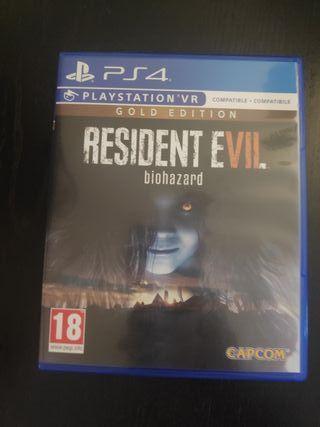 residente Evil ps4