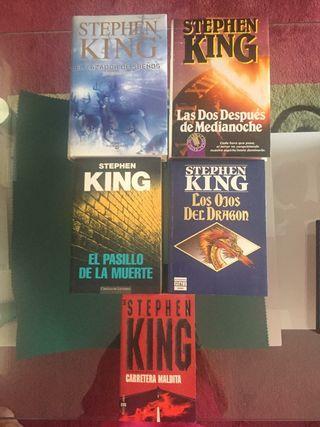 5 Novelas de Stephen King