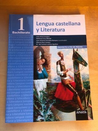 lengua castellana y literatura 1.bachiller