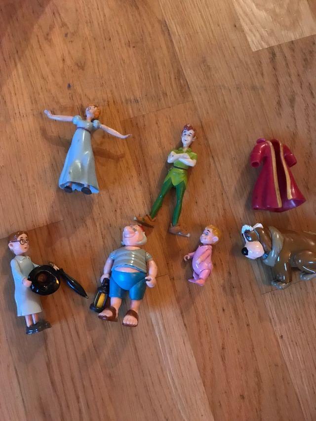 Muñecos de Peter Pan