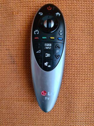mando televisión lg