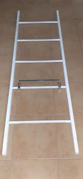 Toallero escalera madera natural - colgador