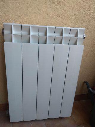 Radiador gas natural