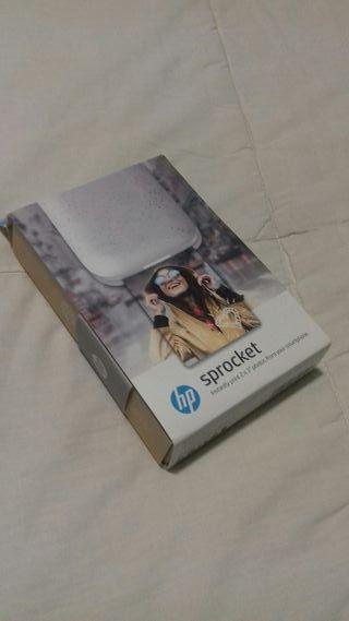 mini impresora HP pocket