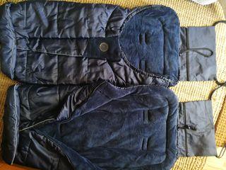 2 Sacos para silla JANE, azul marino