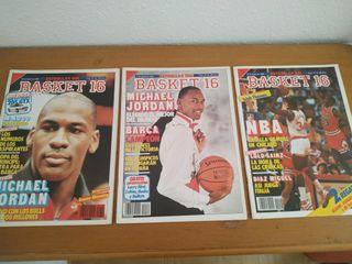 Revistas Basket 16 Jordan