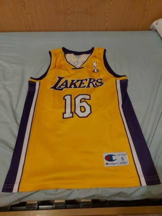 Camiseta Pau Gasol Los Lakers