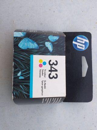 Cartucho impresora tricolor HP 343