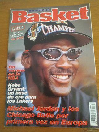 Revista American Basket Título Jordan