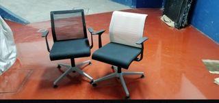 Silla oficina Steelcase sin ruedas