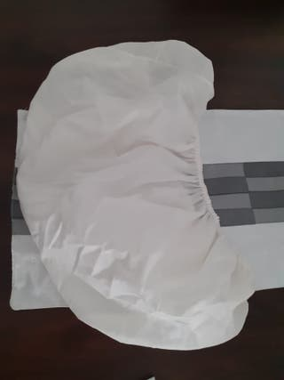 Cubre colchón de minicuna