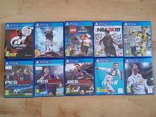 Jocs PS4