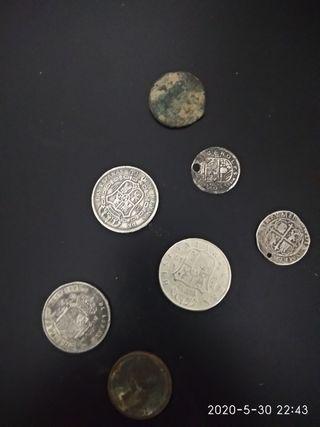 monedas de plata antiguas
