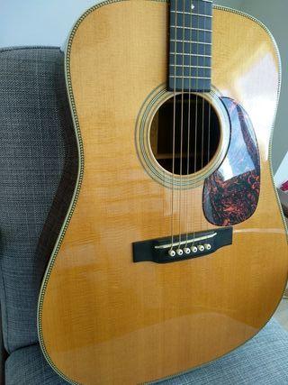 guitarra acústica martin hd28v vintage series