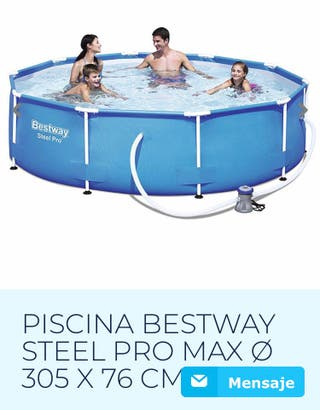 Piscina tubular Bestway Steel Pro 305x76 con depur