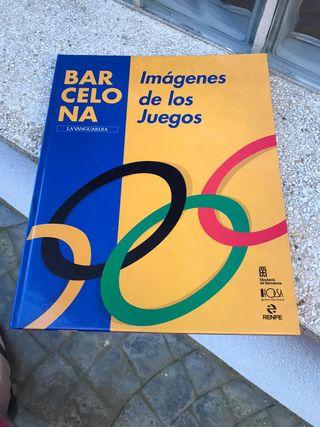 Libro Barcelona, imagenes de los juegos.