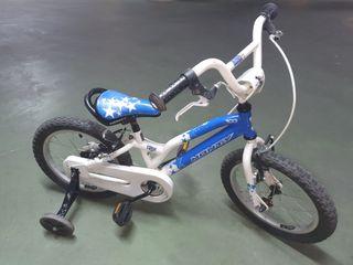 Bicicleta Monty 16 pulgadas.