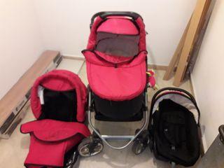 Carro de bebé 3 en 1