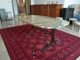 mesa baja de mármol