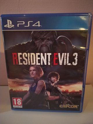 PS4 - Resident Evil 3