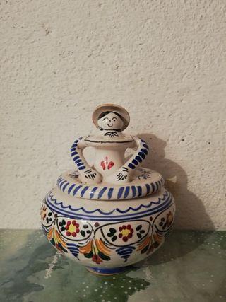 Joyero de cerámica