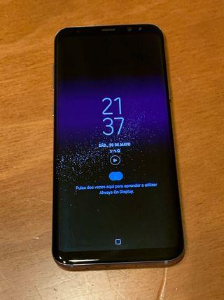 Samsung Galaxy s8 plus 64Gb plata