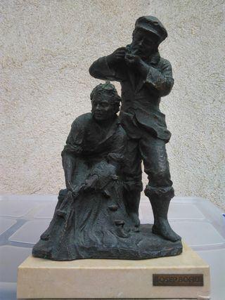 Josep Bofill pescadores bronce
