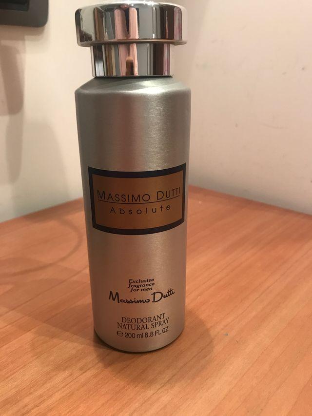 Desodorante Massimo Dutti sin uso
