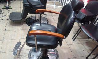 sillon de peluquería caballeros
