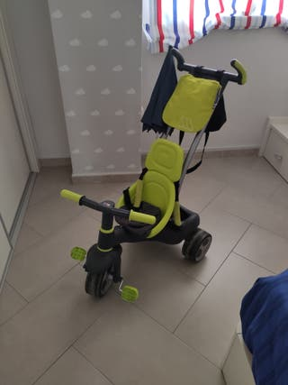 Triciclo Carrito Bebe