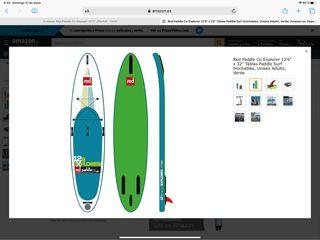 Tabla Padelsurf marca REDCO modelo explorer 12,6*3
