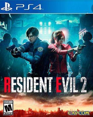 RESIDEN EVIL 2 PS4