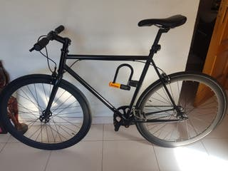Bicicleta Santa Fixie Negra