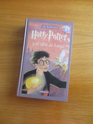 Libro Harry Potter y el cáliz de fuego