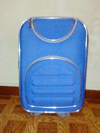 Maleta de viaje azul