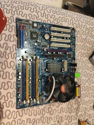 Placa base con Intel i2.