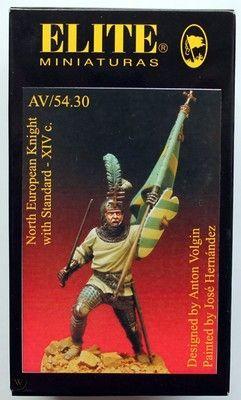 figura miniatura 54mm elite miniaturas sin caja