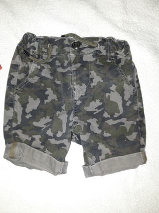 Pantalon Camuflaje 18-24 meses