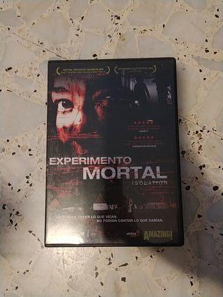Película experimento mortal dvd