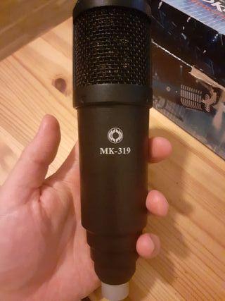 Microfono de condensador Oktava 319
