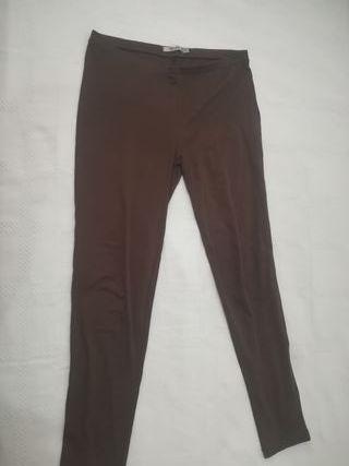 Malla leggings marrón chica Talla L STRADIVARIUS