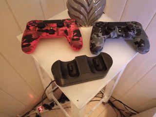 PS4 Slim 1tb con dos mandos y juegos