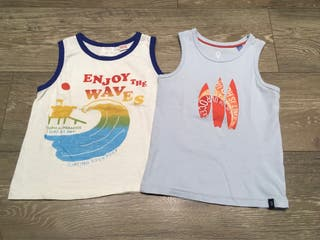 Camisetas tirante niño